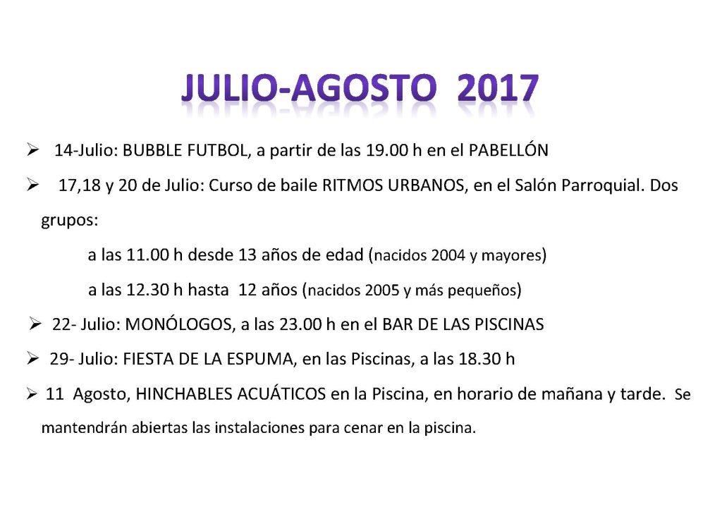 cartel VERANO 2017